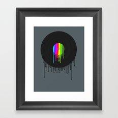 Simply Melting Away #2 Framed Art Print