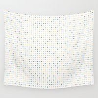 polka dot Wall Tapestries featuring Polka Dot by Alisa Galitsyna