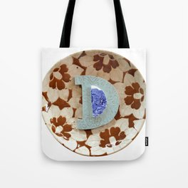 Love Letters to Dinnerware - D Tote Bag