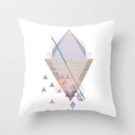 Wood 02 Throw Pillow