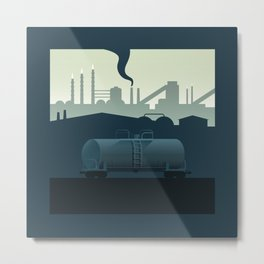 The Lonely Tanker Metal Print