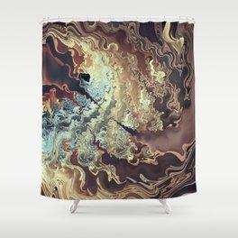 High Peaks & Waters Shower Curtain