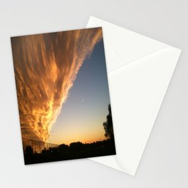 The Face in the Clouds  Stationery Cards