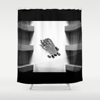 calendars Shower Curtains featuring Calendars for Analytics by mofart photomontages