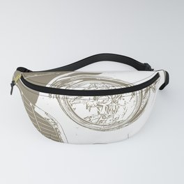 Chevy Chevrolet Bel Air Fanny Pack