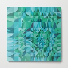 Kaleidoscope D1 Metal Print