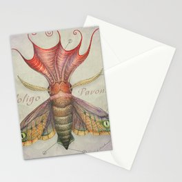 Squid Moth Stationery Cards