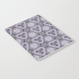 Pale Purple Pyramids Notebook