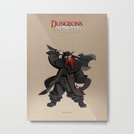 D&R Group 1: Duncan Joybottom Metal Print