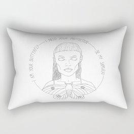 I am your Butterfly Rectangular Pillow