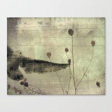Paper Seagull Canvas Print