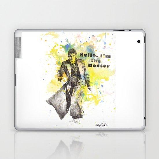 Doctor Who 10th Doctor David Tennant Laptop & iPad Skin