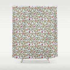 Pattern Project #43 / Pretzel Love Shower Curtain