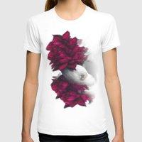 ferret T-shirts featuring Rosy Ferret by Clara J Aira