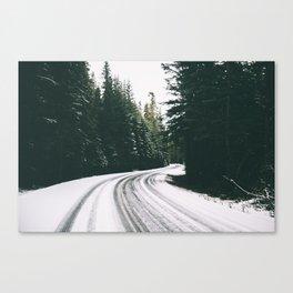 Winter Drive III Canvas Print