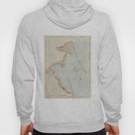 Vintage Map of Plymouth Bay (1779) Hoody