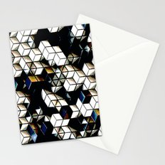 Comic Cubes Stationery Cards