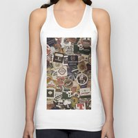 beer Tank Tops featuring Beer by Nicklas Gustafsson