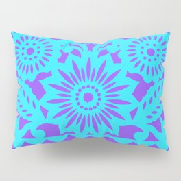 PAPEL PICADO - purple Pillow Sham