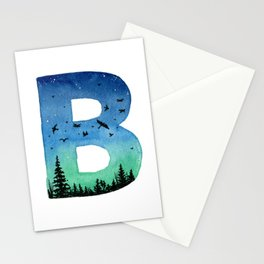 Galaxy Alphabet Series: B Stationery Cards