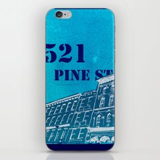Pine St iPhone & iPod Skin