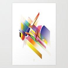 Cello Uno Art Print