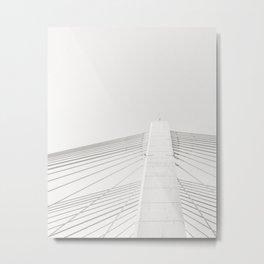 Bridge: Symmetry Metal Print