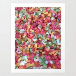 Jelly Rings Art Print