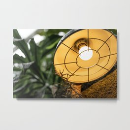Safari Lighting Metal Print