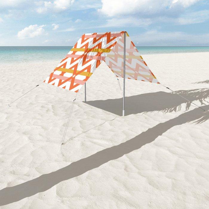 Stripe Weave Sun Shade