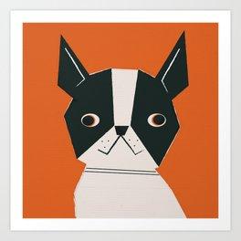Dog_07_Lupita Art Print
