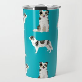 Border Collie dog breed gifts collies herding dogs pet friendly Travel Mug