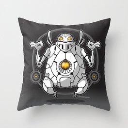 Zen Robot Throw Pillow