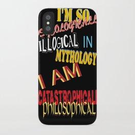 mind blown iPhone Case