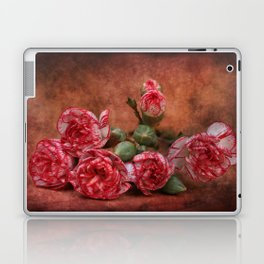 Carnation flowers Laptop & iPad Skin