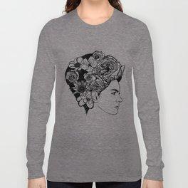 "PHOENIX AND THE FLOWER GIRL ""REFLECTION"" PLAIN PRINT Long Sleeve T-shirt"