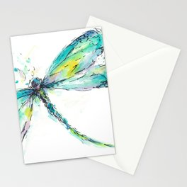 Watercolor Dragonfly Stationery Cards