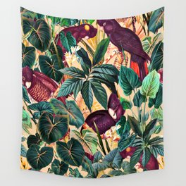 Floral and Birds XLII Wall Tapestry
