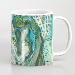 Wolf: Fierce Hope Coffee Mug