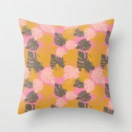 Camo Palm No.2 Throw Pillow