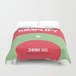 SIMPLIFY #9 Duvet Cover