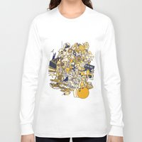 movies Long Sleeve T-shirts featuring Movies Explosion by zaMp