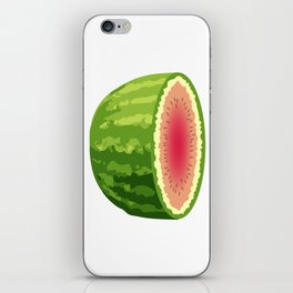 Water Melon Cut In Half iPhone Skin