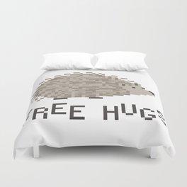 free hugs 1 Duvet Cover