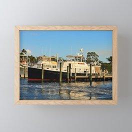 Shoreline in Fort Myers IV Framed Mini Art Print