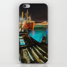 Light in the Wharf iPhone Skin