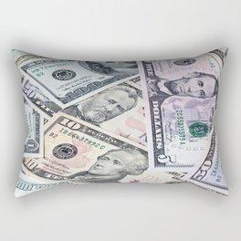 US Dollar Rectangular Pillow