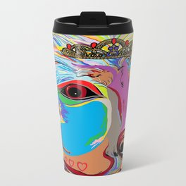 Lady Rottweiler Travel Mug