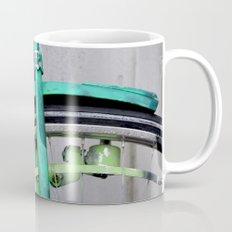 Green bike Mug