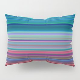 Blurry Saturn Stripes Pillow Sham